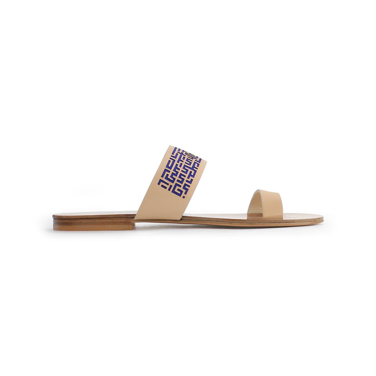 Xeneta Toe Ring Sandals Tan Main