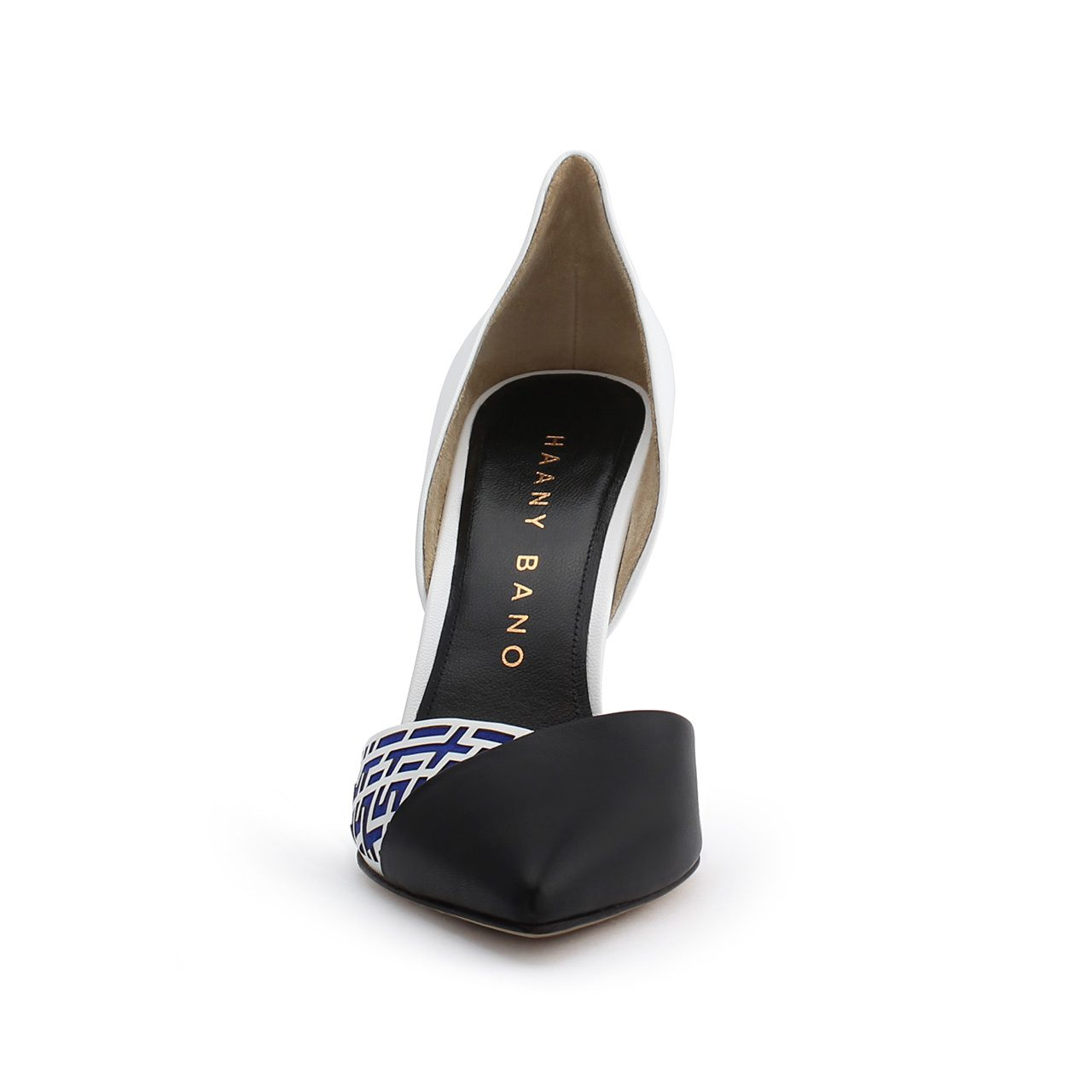 Z'Jore High Back d'Orsay Pump Blue Front