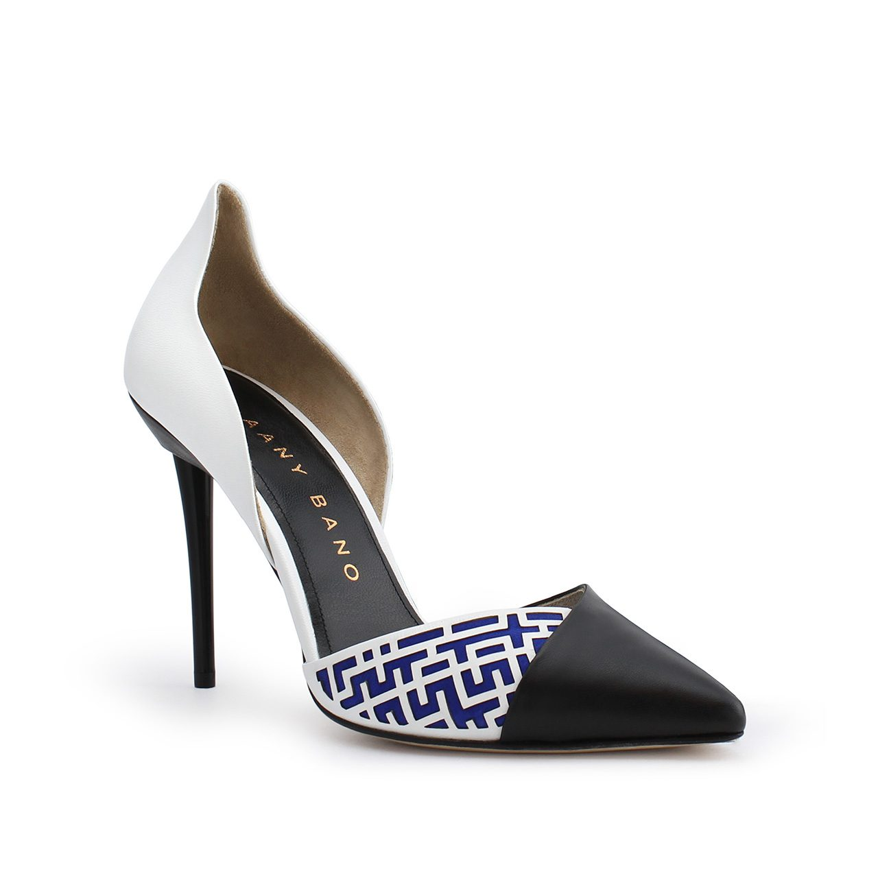 Z'Jore High Back d'Orsay Pump Blue Profile